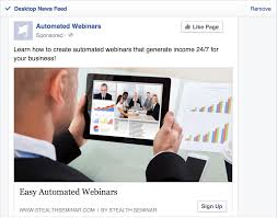Seminar And Webinar Schedule How To Boost Your Webinar Registrations With Facebook Ads
