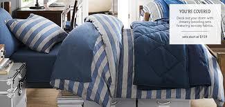 Male Queen Comforter Sets Dorm Bedding Pbteen