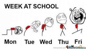 Meme Of The Week - week at school by trollzor19 meme center