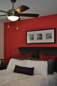 Burlington Bedroom Furniture by Accent Wall Using Benjamin Moore Watermelon Red Paint Colour