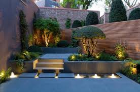 Backyard Landscape Lighting Ideas - fascinating backyard landscape lighting ideas home design