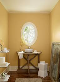 calm yellow paint colors for tuscany bathroom artenzo