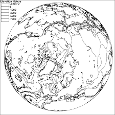 Map Of Tectonic Plates The Arctic Ocean Sea Floor Plate Boundaries Shown