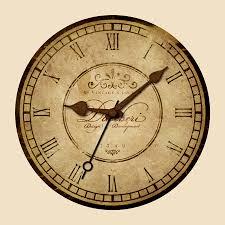 Clock Design Design A Vintage Clock With Rusty Mechanics In Photoshop