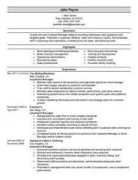 Retail Management Resume Sample by Resume Template District Manager Sample Retail Intended For