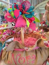 custom easter baskets here comes cottontail hopping the bunny trail another