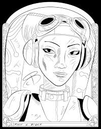 coloring pages hera syndulla by rcbrock on deviantart lineart