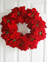 v and co v and co how to simple poinsettia wreath
