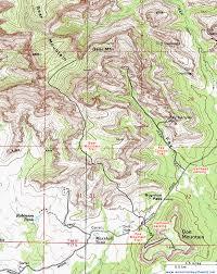 mt lemmon hiking trails map topographic map of the mountain trail sedona arizona