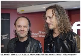 Kirk Hammett Kirk Hammett U0026 Lars Ulrich Metallica Roy Letayf Live Film And