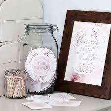 wedding wishes jar sign me 20 creative wedding guest book ideas everafterguide