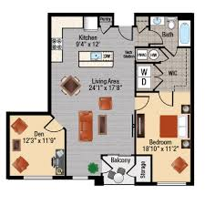 One Bedroom Apartments In Maryland Apartments With A Den In Frederick Md East Of Market