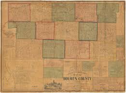 Map Of Holmes County Ohio by Sectional U0026 Topographical Map Of Holmes County Ohio Holmes