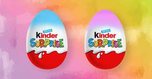 kinder suprise egg kinder eggs are being slammed for sexist packaging and toys