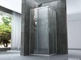 doccia facile box doccia cristallo 6 mm profili e maniglia squadrati montaggio