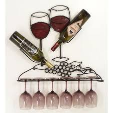 wall wine rack wine glass rack hanging wine rack this would