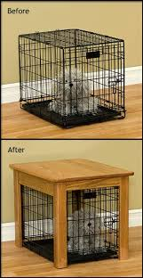 How To Make End Tables by How To Make A Dog Crate End Table Outdoor Patio Tables Ideas