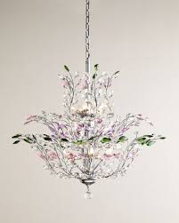 Upside Down Crystal Chandelier Multicolor Upside Down 18 Light Chandelier