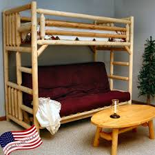 Bunk Bed With FutonFull Size Of Bunk Bedswooden Bunk Bed With - Futon couch bunk bed