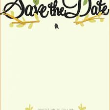 save the date template 9 save the date templates questionnaire template throughout