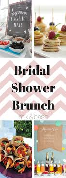 easy bridal shower easy bridal shower brunch menu mix and bash bridal shower