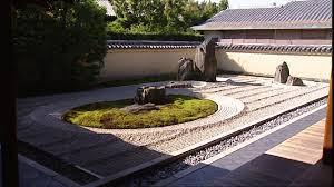 rock garden temple kyoto japan sd stock video footage