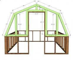 home greenhouse plans ana white build a barn greenhouse free and easy diy project