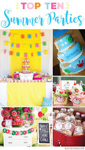 birthday party themes top 10 summer party themes chickabug