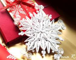 quilled snowflake etsy