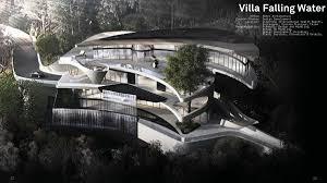 villa lake and villa falling water jia zhou zhu archinect