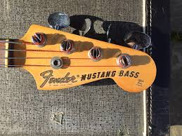 67 mustang fender fender mustang bass 1966 67 lots of pictures reverb