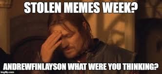 Meme Boromir - boromir facepalm memes imgflip