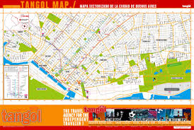 Map Of Central Florida by Large Tourist Map Of Central Part Of Buenos Aires Vidiani Com