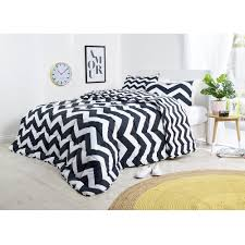 ever rest chevron printed bed pack black queen king reg 69 99