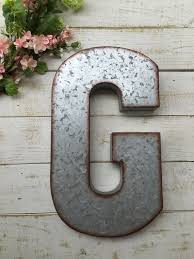 metal letters wall decor wall metal letter galvanized galvanized letter large metal letter home wall decor personalized