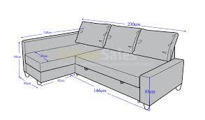 sofa bed measurements memsaheb net