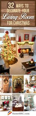 living rooms decorated for christmas 32 best christmas living room decor ideas and designs for 2018
