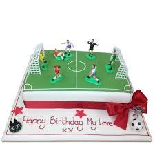 football cakes sporting cakes