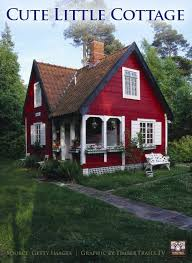 Country Cottage Designs by Cute Little Red Cottage Timber Trails Provides Custom Cabin