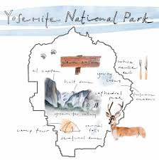 Map Of Yosemite Insider U0027s Guide To Yosemite National Park Huckberry