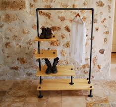 super simple clothes rail designs that you can make by yourself