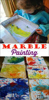 marvelous marble painting art activities fun art and marbles