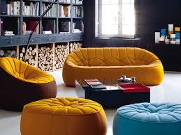 ottomane canapé canapé en tissu ottoman by ligne roset design noé duchaufour lawrance