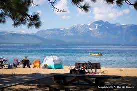 Nevada beaches images Best beaches in south lake tahoe for families swimming and paddling jpg