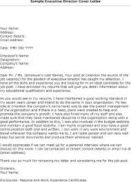 10 executive director cover letter sample cover letter sample