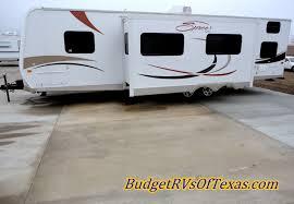 kz spree 324 bumper pull travel trailer half ton towable bumper