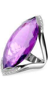 amethyst diamond engagement ring 1806 best jewelry smooth shiny sparkly images on pinterest