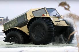 amphibious truck for sale russian sherp is the ultimate amphibious 4x4