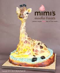 giraffe cake custom sculpted giraffe cake graduation cake