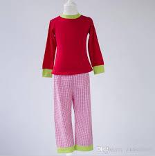 boutique childrens clothes sets pajamas sleeve children